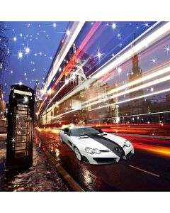 Busy Streets  Computer Printed Photography Backdrop ZJZ-947