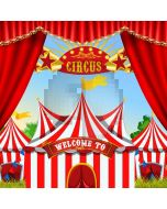 Circus Curtain Computer Printed Photography Backdrop ABD-359