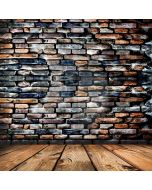 Brick Wall Floor Computer Printed Photography Backdrop ABD-767