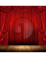 Stage Wooden Floor Curtain Computer Printed Photography Backdrop ABD-921