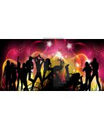 Light Star People Computer Printed Dance Recital Scenic Backdrop ACP-1119