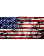 mottled flag Computer Printed Dance Recital Scenic Backdrop ACP-116