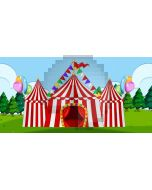 Circus Tree Computer Printed Dance Recital Scenic Backdrop ACP-1186