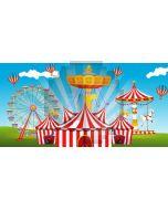 Circus Ballon Computer Printed Dance Recital Scenic Backdrop ACP-1238