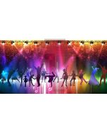 Dancers Footlights Computer Printed Dance Recital Scenic Backdrop ACP-1298
