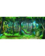 Magic forest Computer Printed Dance Recital Scenic Backdrop ACP-200