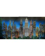 High-rise buildings Computer Printed Dance Recital Scenic Backdrop ACP-472