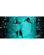 Ballet dancer Computer Printed Dance Recital Scenic Backdrop ACP-483