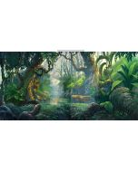 forest landscape Computer Printed Dance Recital Scenic Backdrop ACP-485