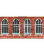 window  wall Computer Printed Dance Recital Scenic Backdrop ACP-506