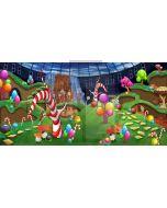 Waterfall Ball Colour Clown Computer Printed Dance Recital Scenic Backdrop ACP-609
