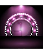 Light Circle Purple Computer Printed Photography Backdrop AUT-219