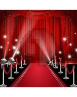 Curtain Red Carpet Pillar Computer Printed Photography Backdrop AUT-298
