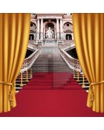 Stair Carpet Computer Printed Photography Backdrop AUT-419