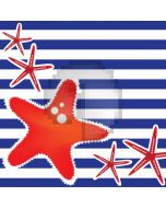 Star Stripe Computer Printed Photography Backdrop AUT-654