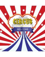 Circus Star Computer Printed Photography Backdrop AUT-667