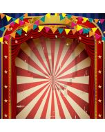 Circus Flag Computer Printed Photography Backdrop AUT-687