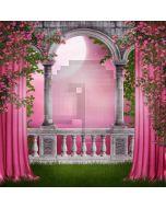 Pink Rose  Computer Printed Photography Backdrop DGX-123
