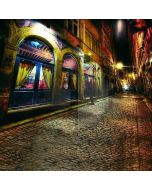 Night City Street Computer Printed Photography Backdrop DT-11-181