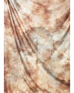 Brown white Tie-Dye Photography Muslin Backdrop Background DT-BJ-ZR0006
