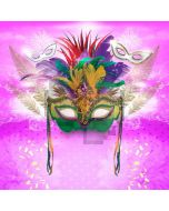 Mask Fur Pink Firework Computer Printed Photography Backdrop DTU-650