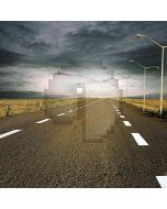 Highway In Cloudy Weather Computer Printed Photography Backdrop HY-CM-0093