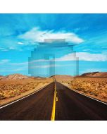 Highway In Western Area Computer Printed Photography Backdrop HY-CM-1915