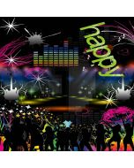 New Year Party Computer Printed Photography Backdrop LMG-201