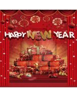 New Year Presents Computer Printed Photography Backdrop LMG-202