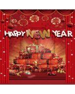 New Year Presents Computer Printed Photography Backdrop LMG-202