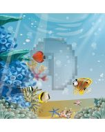 Cute Ocean Computer Printed Photography Backdrop LMG-259