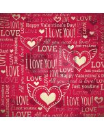 Valentine Wall Computer Printed Photography Backdrop LMG-263