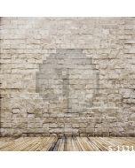 Pale Brick Wall Computer Printed Photography Backdrop S-1111