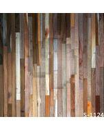 Thin Wooden Wall Computer Printed Photography Backdrop S-1124