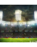 Crowded Stadium Computer Printed Photography Backdrop S-1174