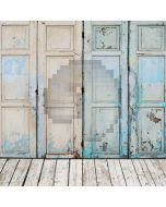 Old Door Computer Printed Photography Backdrop S-1211