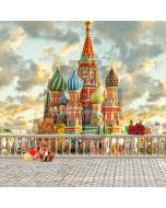 Russian Castle Computer Printed Photography Backdrop S-2013