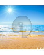Sunny Beach Computer Printed Photography Backdrop S-529