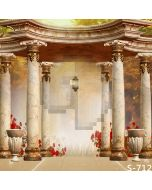 Luxuriant  Pillars Computer Printed Photography Backdrop S-712