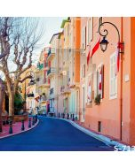 Iridescent Streetscape Computer Printed Photography Backdrop S-713