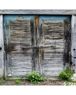Wrecked Wood Wall Computer Printed Photography Backdrop S-722