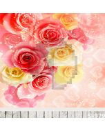 Shiny Flowers Computer Printed Photography Backdrop S-979