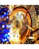 Luxury Clock Computer Printed Photography Backdrop XLX-144