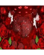 Rose Love Story  Computer Printed Photography Backdrop XLX-280