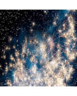 Beautiful Fireworks Computer Printed Photography Backdrop XLX-397