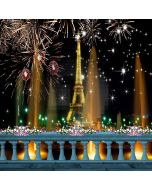 City Fireworks Computer Printed Photography Backdrop XLX-433