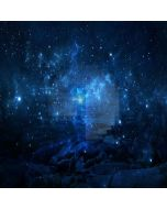 Brilliant Starry Sky Computer Printed Photography Backdrop XLX-446