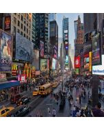Busy City Streets Computer Printed Photography Backdrop XLX-497