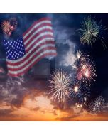 Gorgeous Fireworks  Computer Printed Photography Backdrop XLX-556