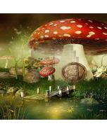 Enormous Mushroom Computer Printed Photography Backdrop YKY-152